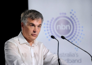 NBN chief executive Stephen Rue.