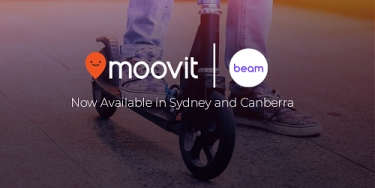 Beam and Moovit connect Australians to more e-scooters and e-bikes