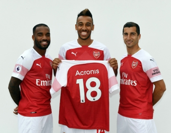 Acronis gets behind Arsenal Football Club in new tech partnership