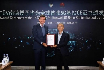 Huawei accelerates 5G efforts: new SingleRAN pro, first CE-TEC cert for 5G