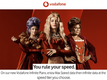 Yes! Vodafone FIRST to increase speed caps for mobile phone plans after full speed allocation used