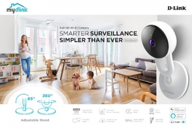 D-Link releases full HD Wi-Fi camera with built-in AI person detection