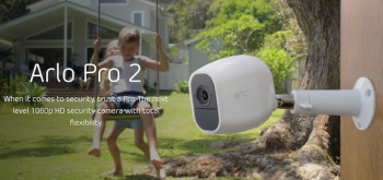 Netgear's Arlo Pro 2 introduces Alexa, 1080P HD video and much, much more