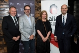 AIIA's Ron Gauci with Victorian Government's  Martin Pakula, company director Laura Anderson and AIIA chairman & Optus managing director John Paitaridis