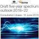 ACMA invites public say on five-year spectrum outlook 2018-22