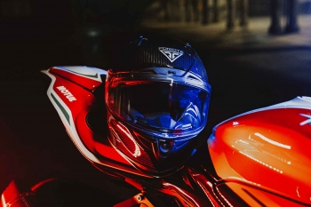 Forcite Helmets launches AI-powered motorbike 'smart helmet'
