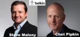 Belkin's Chet Pipkin becomes Exec Chairman as Steve Malony appointed new CEO