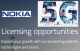 Nokia ranked as number one in 5G patents