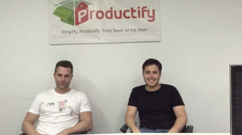 VIDEO: Startup series success - Interview with Productify's co-founders