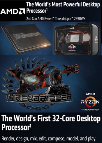 VIDEOS: 2nd-gen AMD Ryzen Threadripper rips Intel a 2nd-one with 32 cores