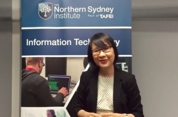 VIDEO Interview: Get an IT career through study at Northern Sydney Institute TAFE