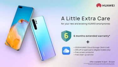 Huawei announces new promotional campaign with extended warranty and cloud storage in Australia