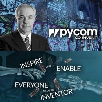 'Disruptive IoT startup' Pycom: New chairman is Aussie tech legend