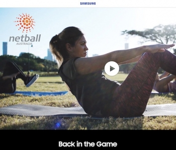 VIDEO: Samsung and Netball Australia get 'Back in the Game'
