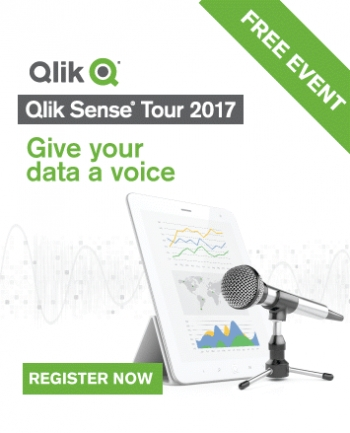 Qlik gives data a voice with Qlik Sense Tour 2017