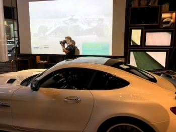 Epson demonstrates latest tech at flagship Mercedes me Store, Melbourne