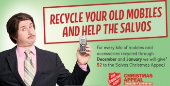 Muster your old mobiles for recycling, feed a family for Christmas