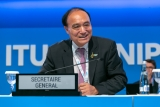 Houlin Zhao, ITU secretary general