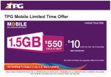 TPG runs special $10 4G mobile plan offer for its customers
