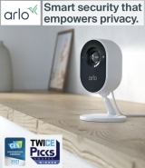 Arlo launches new Essential Indoor Camera with 'automated privacy shield'