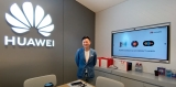 Huawei Mate 40 launch video, Sydney CBD Experience Store tour, interview with Consumer MD Larking Huang