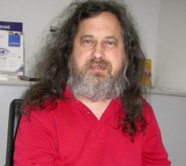 Richard Stallman: at the centre of a storm again.