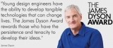 VIDEOS: Last chance to enter the James Dyson Award for 2019
