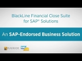 BlackLine connects with SAP