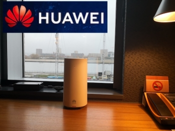 """The first 5G commercial terminals in the world 5G CPE"" - Huawei"