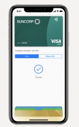 Sun shines on Suncorp's new eftpos offering via Apple Pay