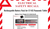 Panasonic recalls more battery packs from CF-H2 tablets