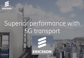 Ericsson reports 'strengthened end-to-end transport solutions for 5G'
