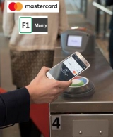 Mastercard launches 'OZ first' contactless payment for F1 Manly ferry