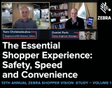 VIDEO Interview: Key retail post-COVID insights revealed by Zebra's 2021 shopper study; March 17 Webinar Invite