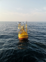 Wind data collection offshore Korea
