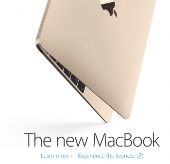 Apple redefines super-thin with new MacBook