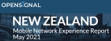 Opensignal releases New Zealand Mobile Network Experience Report 2021