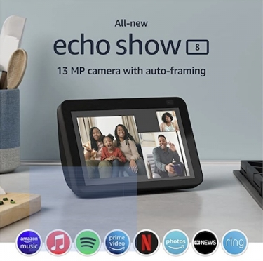 Amazon's next-gen Echo Show 8 and 5 are alive with great new features at affordable prices
