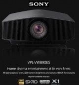 Sony launches two new native 4K Home Cinema projectors featuring advanced processing and HDR enhancement