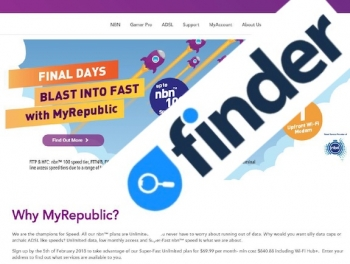 Finder finds three speed check tips as it comments on MyRepublic's NBN fines
