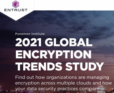 Encryption use increases in Australia as organisations focus on specific threat vectors, reveals Entrust 2021 Australia Encryption Trends Study