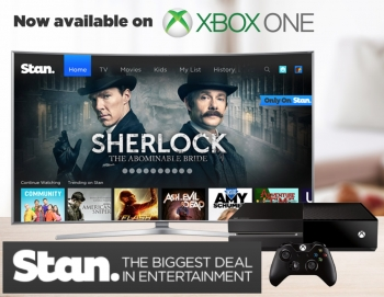 SVOD service Stan makes a stand on Xbox One