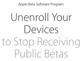 Don't forget to unenrol your Apple devices now that everything has been released