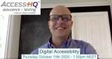 WEBINAR 15 OCTOBER: Digital Accessibility with Greg Barnett from AccessHQ - VIDEO INTERVIEW