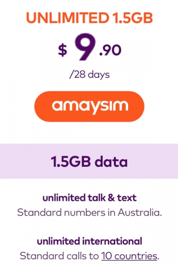 Amaysim graces new entry-level customers with 60% off deal for six renewals