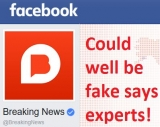Facebook fake news – what's news?