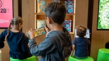Optus 5G helps children experience reading using augmented reality