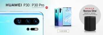 April 15: Last day for Huawei P30 and P30 Pro pre-order Sonos offer